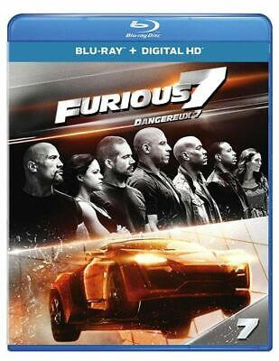 $ CDN26 • Buy Furious 7 Blu-Ray Digital HD With Slipcover Mint Disc Very Fast Ship World!