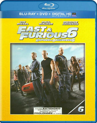 $ CDN24.05 • Buy FAST & FURIOUS 6 EXTENDED EDITION BLU-RAY Blue Ray DVD 2 Discs Set Fast Ship!