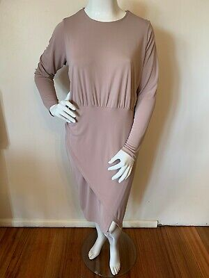 AU40 • Buy ASOS CURVE Long Sleeve Dress NEW WITH TAGS Size 22