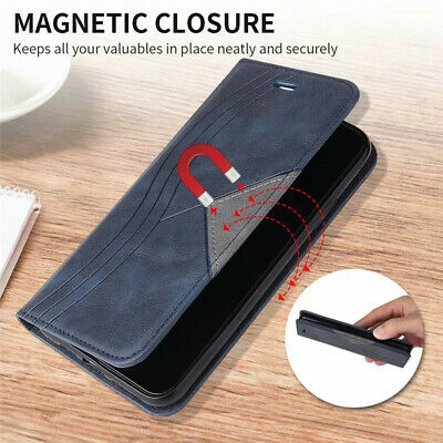 $ CDN8.35 • Buy For Samsung S20 Ultra S10 S9 S8 Plus Magnetic Leather Flip Wallet Case Cover
