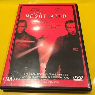 AU8 • Buy The Negotiator Kevin Spacey Drama Movie Dvd Free Shipping