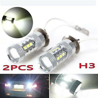 AU18.99 • Buy 2x H3 Fog Light Cree Led Xbd Headlight Driving Light Bulb Car Ute Lamp Globes