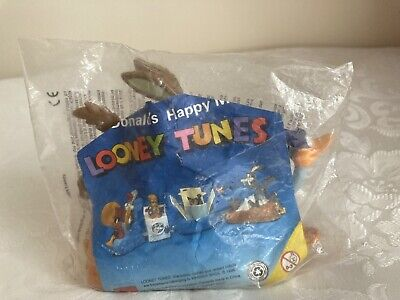 Mcdonalds Happy Meal Single Toy Looney Tunes Wile E. Coyote And Road Runner 1996 • 2.99£