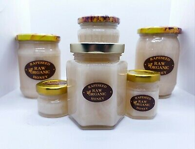 Pure Rare Raw Rapeseed Honey 100% Natural No Additives High Quality • 6.65£