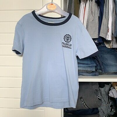 Light Baby Blue Franklin & Marshall Age 3-4 Years Boys Tshirt Top • 10£