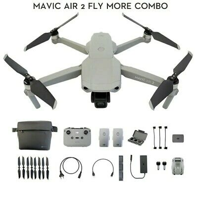 AU1799 • Buy DJI Mavic Air 2 Drone Fly More Combo
