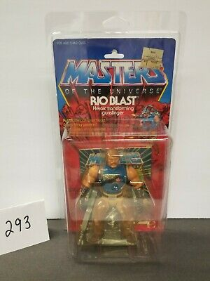 $280 • Buy MOTU, Rio Blast, Masters Of The Universe, MOC, Carded, Figure, He Man, Sealed