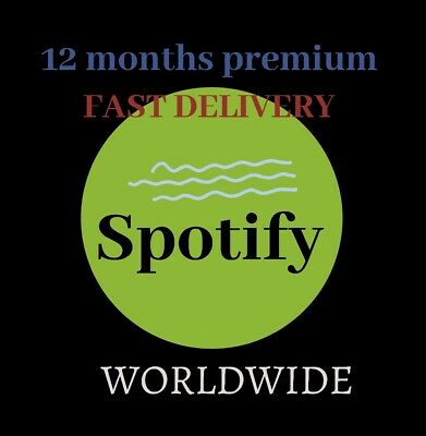 AU18 • Buy [100+ SOLD] Spot1fy Premium 12 Months | New/Existing Account | Worldwide