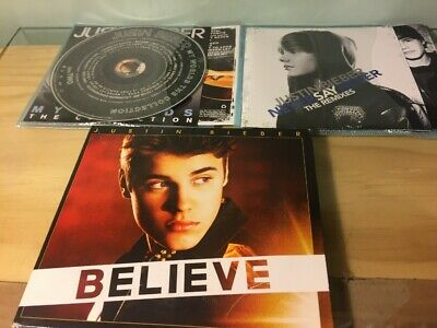 AU10 • Buy JUSTIN BIEBER 3 CD Set