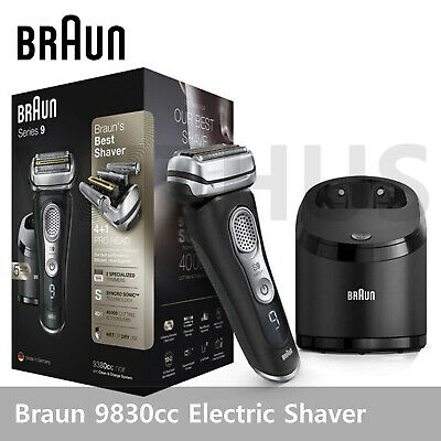 AU541.99 • Buy Braun Series 9 9380cc System Wet&Dry Cordless Men's Electric Shaver New Edition