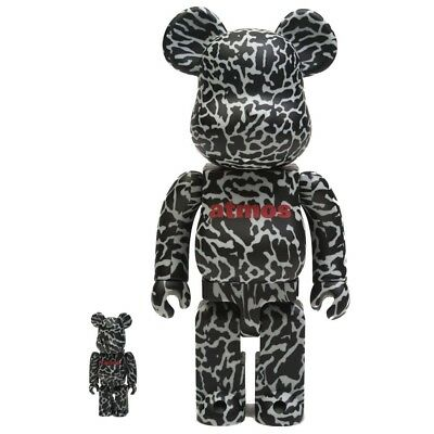 $200 • Buy Medicom BE@RBRICK Atmos Reverse Elephant 100% 400% Bearbrick Figure Set