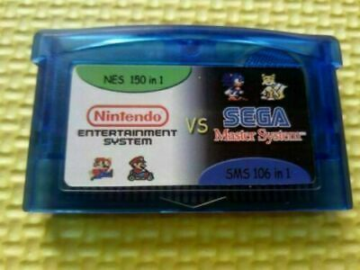 £9.20 • Buy Gameboy Advance Multicart Collection GBA Cartridge 150 NES+106 SMS Game In 1 Car