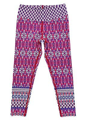 AU62 • Buy New Dharma Bums Recycled High Waist Printed Legging 7/8 Red Size:L