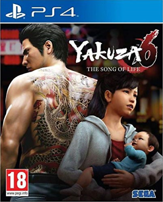 AU30.09 • Buy PS4-Yakuza 6: The Song Of Life /PS4 GAME NEW