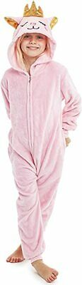 CityComfort Animal Pink Cat Super Soft All In One Pyjamas Sleepsuit For Girls • 16.19£