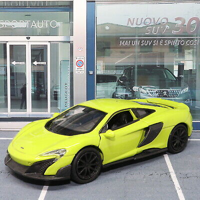 Mclaren 675LT Coupe 1:38 Scale Die-cast Metal Model Pull Back Car Opening Doors  • 9.99£
