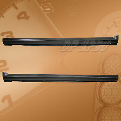 $199.95 • Buy Type-sti Polyurethane Pu Side Skirts Spoiler For 04-05 Subaru Impreza Wrx Sti