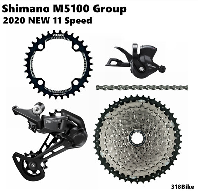 $ CDN157.07 • Buy SHIMANO Deore Group M5100 11s Groupset 11 Speed Big Cassette KIT Replace M7000