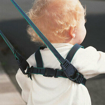 Clippasafe Baby And Toddler Walking Harness W/Reins Child Safety (Black)030318BK • 7.75£