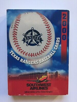 $39.99 • Buy 2000 Texas Rangers Baseball Team Card Set Southwest Airlines Unopened SGA