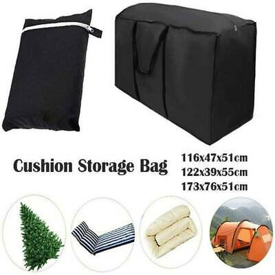 Extra Large Waterproof Storage Bag Outdoor Furniture Cushions Christmas Tree Toy • 9.88£
