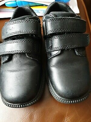 Boys Clarks Leather School Shoes *Deaton* 8 H  • 4.99£