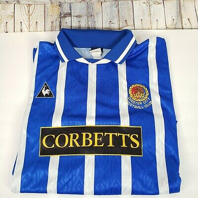 £38.94 • Buy Vintage Le Coq Sportif Chester City FC Football Jersey Size XXL