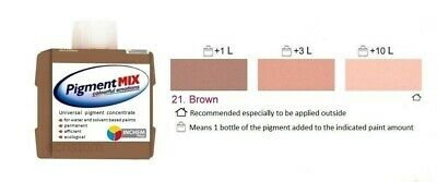 £6.99 • Buy Brown Wall Paint Colorant Emulsion Solvent Pigment Paint Tint Pigment Brown 80ml