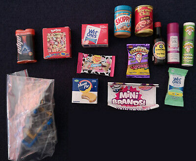 $ CDN14.99 • Buy Zuru Five 5 Surprise Mini Brands Lot Of 14 Items Cart + Basket + 12 Other Items