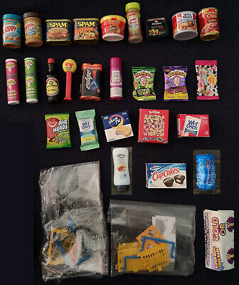 $ CDN27.99 • Buy Zuru Five 5 Surprise Mini Brands Lot Of 27 Items Basket + Shelf + Cart + More