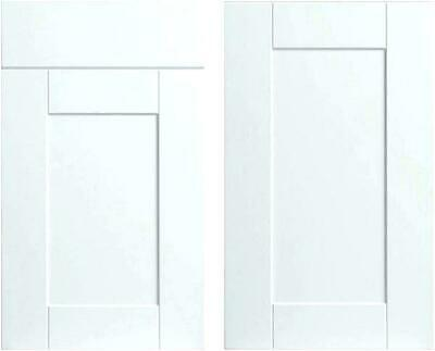 £19 • Buy Kitchen Direct SHAKER DOORS DRAWER FRONTS Base Wall Tuscany Hand Painted White