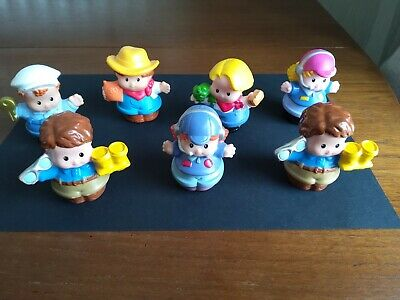 Fisher Price Little People Figures X 7 • 3.50£