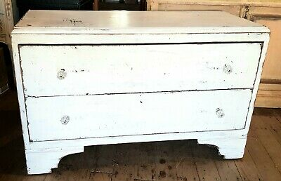 AU295 • Buy Shabby Chic Vintage Chest Of Drawers Bedroom Antique