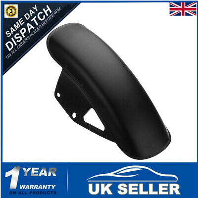 Motorcycle Front Mudguard Mud Fender Guard Matt Black For Suzuki GN125 GN250 • 18.71£