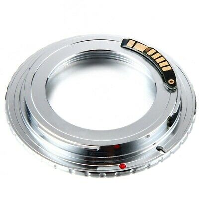 $12.28 • Buy M42 Lens To Canon EOS 5D 10D 500D 1000D 450D 30D EMF EF Mount Adapter Silver