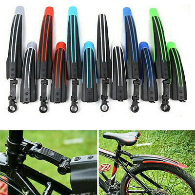 $12.99 • Buy Front/Rear Mud Guards Mudguard Fenders Mountain Set Bicycle Cycling Tire Fenders