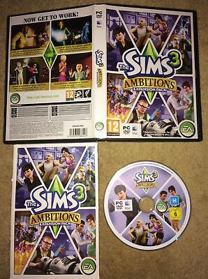 The Sims 3: Ambitions Expansion Pack PC MAC Video Game • 4£