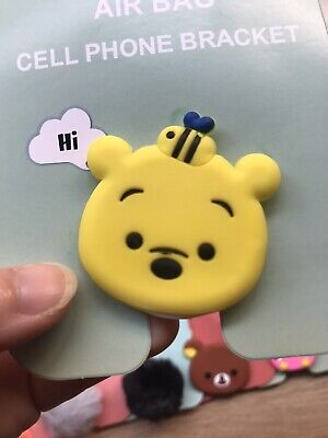 AU4 • Buy Winnie The Pooh Phone Holder Fits For Pop Socket Samsung IPhone Accessories Cute