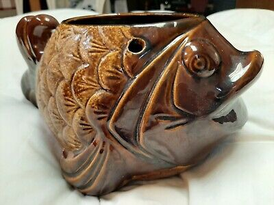 $24.99 • Buy Large Haeger Pottery Hanging Fish Planter Pot