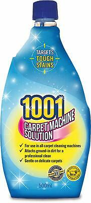 1x 1001 Carpet Machine Shampoo 500ml 3in1 Professional Clean  • 5.40£