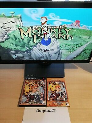Escape From Monkey Island PS2 - Near Mint, Complete & Tested - Excellent Shape! • 7.99£