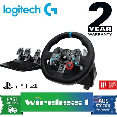 AU399 • Buy Logitech G29 Driving Force Racing Wheel For PS4 And PC