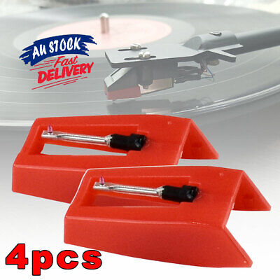 AU13.95 • Buy 4Pcs E Record Player   Turntable  Replacement Stylus  Needles Tool Set
