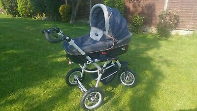 View Details Jane Pram, Carrycot And Pushchair Set Powertrack 360 In Excellent Condition. • 250.00£
