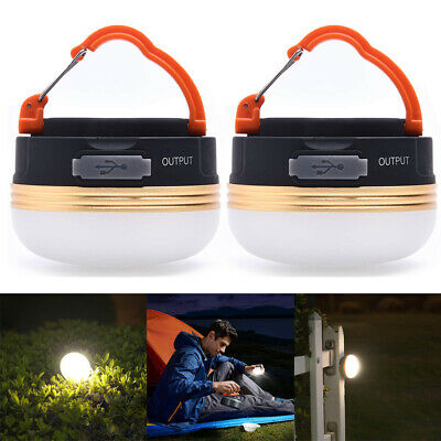 £14.50 • Buy Bright USB Rechargeable LED Camping Tent Lantern Night Light Torch Lamp Outdoor