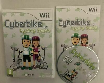 Cyberbike Cycling Sports - Nintendo Wii With Manual PAL • 10.51£