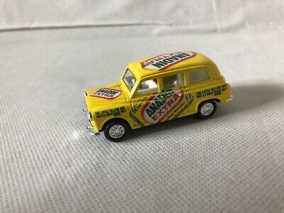 """Promotional  London Taxi Yellow Pull - Back Friction 3"""" Toy Car - Vgc • 3.99£"""