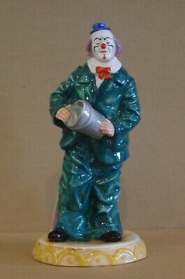 ### Royal Doulton Clown Figurine - Will He, Won't He? Hn3275 ### • 90£