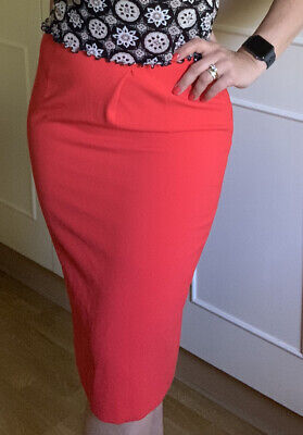 £11 • Buy Gorgeous Red Jaeger Pencil Skirt Size 10