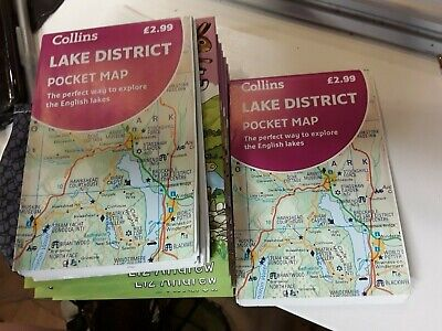 Lake District Pocket Map The Perfect Way To Explore The English... 9780008383046 • 3.69£